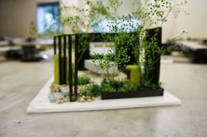 庭作りデモンストレーション
