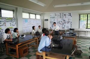 清水教授による樹木医講座