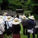 キャンパス見学(日本庭園)