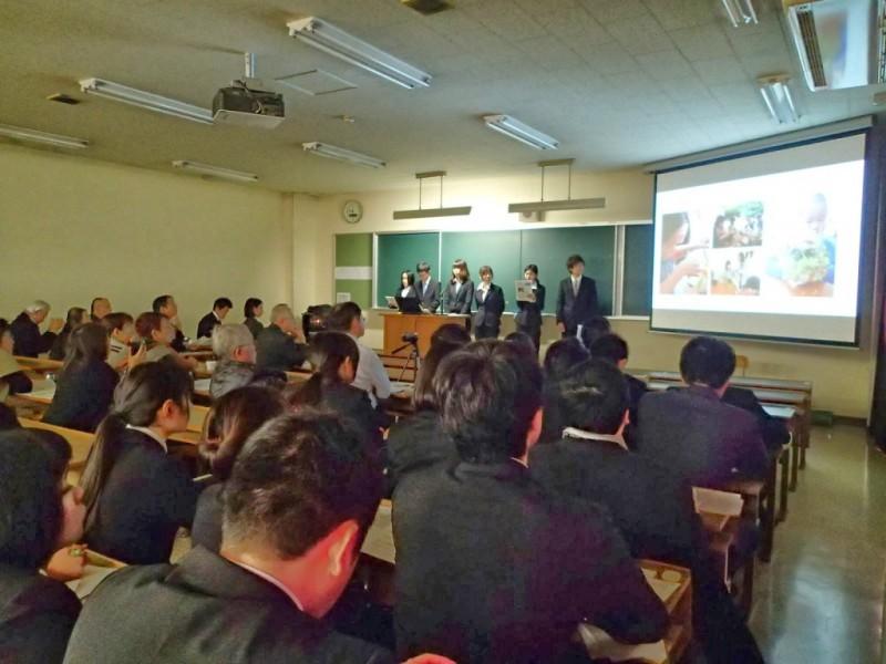 学びの発表会2013の様子