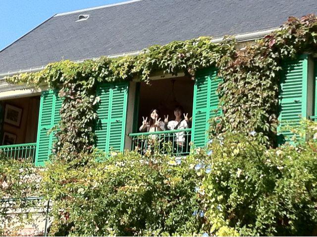 モネの庭にて…