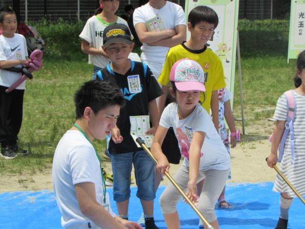 スポーツ・レクリエーションフェスティバルの1コマ