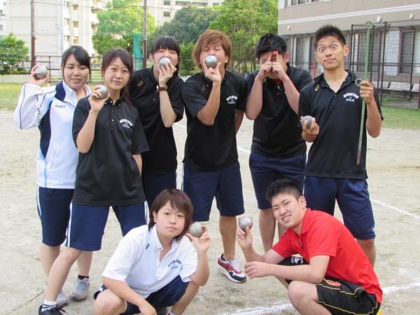 ニュースポーツ:ペタンク体験