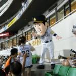 内川選手のマスコット