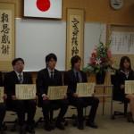 秋季卒業式6