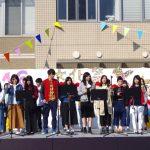 ♪ダンベル♪ 【 保育学科1年(bクラス) 】