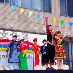 ベトナム民族衣装ショーハットダンス①