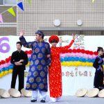 ベトナム民族衣装ショーハットダンス③