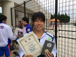 3位入賞の矢野真奈さん
